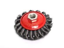 Щетка дисковая косич.100мм/M14 GEPARD (GP0885-100)