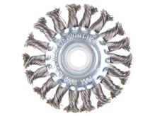Щетка дисковая косич.125ммх22мм GEPARD (GP0880-125)